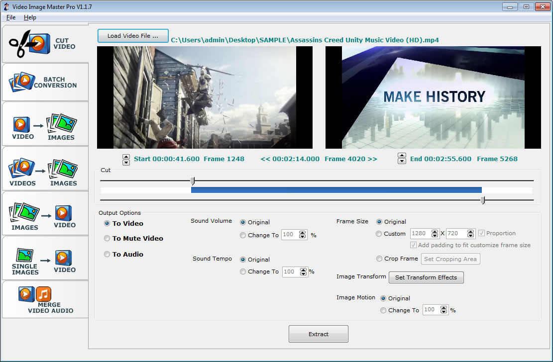 Click to view Video Image Master Pro screenshots