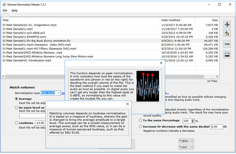 Click to view Volume Normalizer Master screenshots